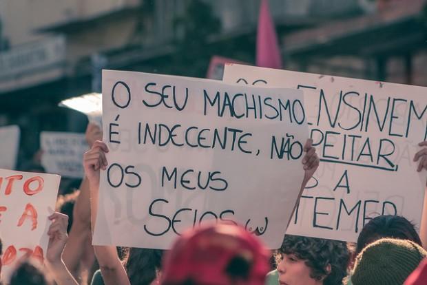 Marcha das vadias (Flickr/Upslon)
